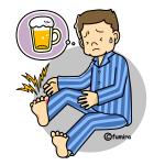 ビールのプリン体が痛風の原因というのはウソ!痛風の真の原因は?