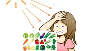 紫外線対策で食べるといい食べ物と、逆に食べない方がいい食べ物!
