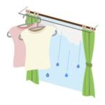 梅雨期の部屋干し、お金をかけなくても、とても早く乾かす方法を厳選!