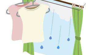 梅雨時期、洗濯物の部屋干しを、お金をかけずに早く乾かす方法のまとめ!